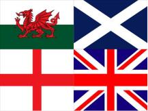 Wales, Scotland, England.. Make up the UK